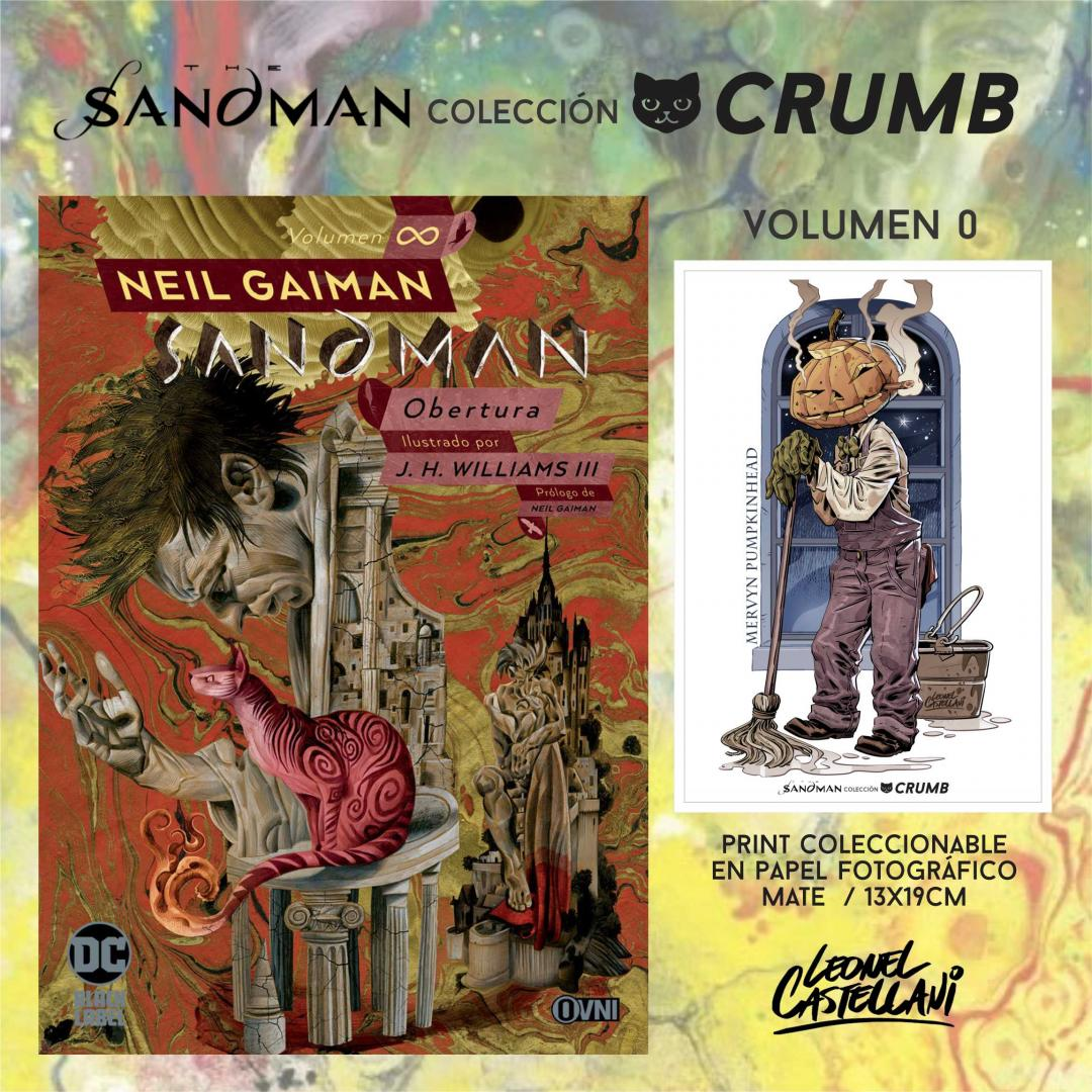 Sandman Vol 0 Obertura + Print Exclusivo