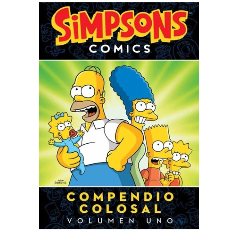 Bongo Especiales - Simpson Compendio Colosal Vol 1