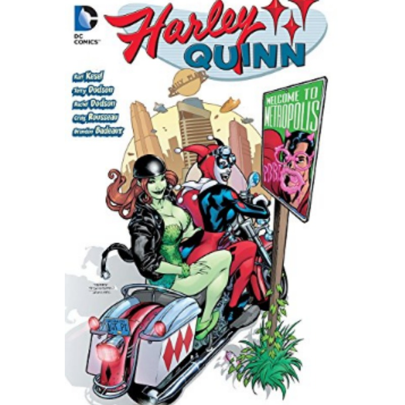 Harley Quinn: Welcome To Metropilis (ingles)