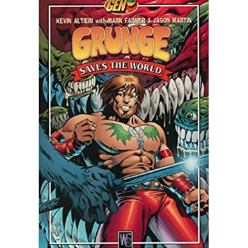 Gen13 Grunge: Saves The World (ingles)