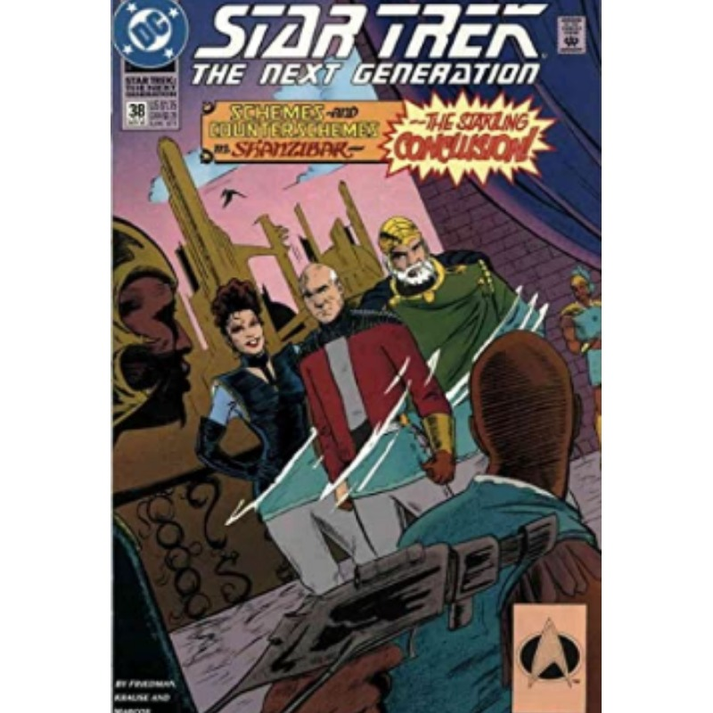 Star Trek: The Next Generation #38 (ingles)
