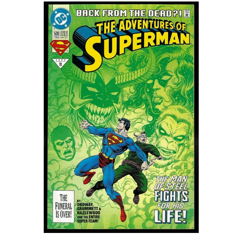 The Adventures Of Superman #500 (ingles)