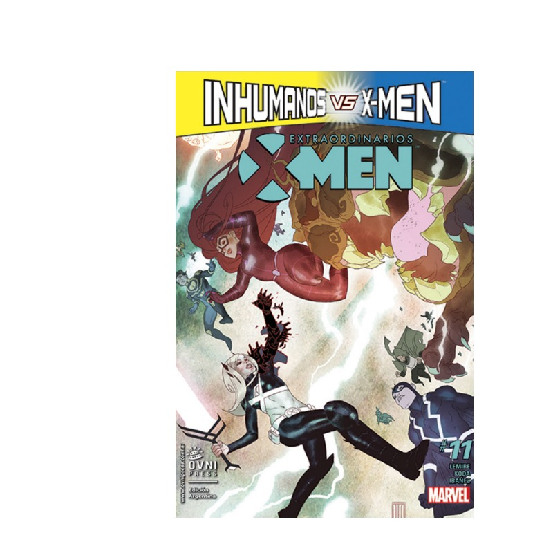 Extraordinarios X-men #11