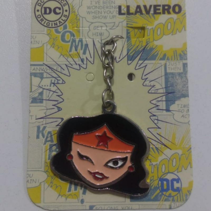 Llavero Cara Wonder Woman