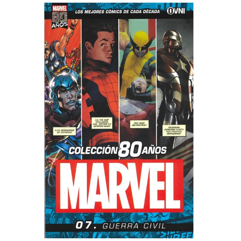Marvel 80 Años Vol 07: Guerra Civil